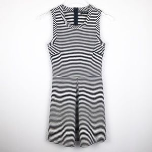 Madewell | Striped Afternoon Black/White Dress